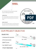 FINAL_SMART TUNNEL_Presentation (Hydraulics Winter 2013)