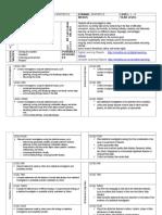 unit plan numeracy statistics level 1 - 4