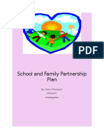 school and family partnership plan