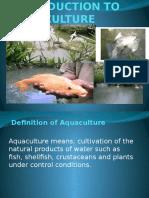 Aquaculture Ppt