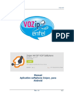 Manual Zoiper-Android VOZip