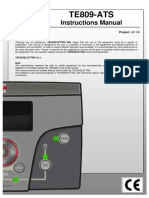 TE809-ATS _ Instructions Manual _ Project v1.1.3 _ TECNOELETTRA®.pdf