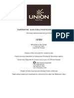 Union Menu Summer 2015 16