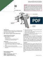 300 Manual Spray Gun