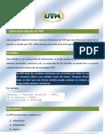 07 Referencia Rapida de PHP