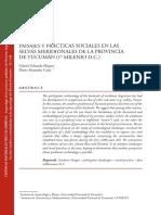 PAISAJES Y PRÁCTICAS SOCIALES EN LAS SELVAS MERIDIONALES DE LA PROVINCIA DE TUCUMÁN (1° MILENIO D.C.)