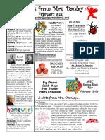 newsletter february 8-12