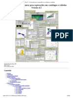 TUTORIAL TOPCAT (Portugues) - Ferramenta Para Operações Em Catálogos e Tabelas