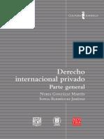 Nuria Gonzales Martin - Derecho Internacional Privado, Parte General