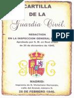 Cartilla de La Guardia Civil