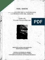 Produccion de la Naturaleza- Neil Smith