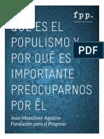 Que Es El Populismo v2 Final