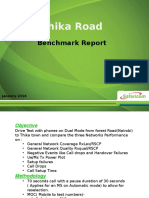 Thika_road Bench Mark DT Report Jan 20161