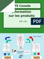 HTE Canada - Informations Sur Les Produits
