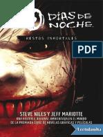 30 DIAS de NOCHE 2 - Restos Inmortales - Steve Niles