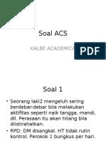 Soal Acls Kalbe Academia Jogja