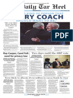 The Daily Tar Heel for Feb. 8, 2016
