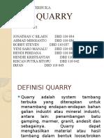 1. QUARRY
