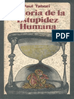 Historia de La Estupidez Humana - Paul Tabori