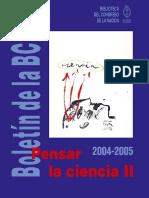 Boletin-122 II Ciencia Hoy - Ricardo Gomez, Una Reflexion Desde La Filosofia