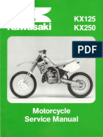 Kawasaki Kx125-Kx250 Manual de reparacion 1992-1993