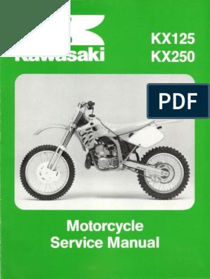 Miraculous Kawasaki Kx125 Kx250 Manual De Reparacion 1992 1993 Bralicious Painted Fabric Chair Ideas Braliciousco