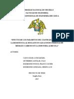 EFECTOS DE LOS PARAMETOS DEL CIANURADO LIQUIDO EN LA RESISTENCIA AL DESGASTE EN ALEACIONES FERROSAS DE MEDIANO CARBONO EN LA INDUSTRIA AGRICOLA