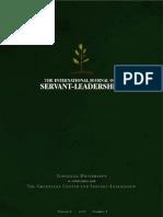 International Journal of Servant Leadership 2005