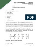 P180 Avanti-Lighting System