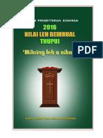 Nilai Leh Beihrual Thupui 2016