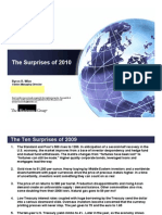 Top 10 Global Economic Surprises 2010