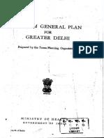 Interim General Plan for Greater Delhi