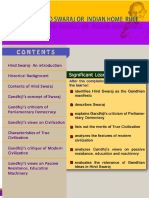 Gandhian Studies