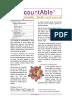 111 - Alternative Accountabilities