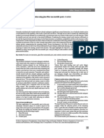 Post Endodontic Restoration using glass fiber non metallic posts; | Dr vineet vinayak |
