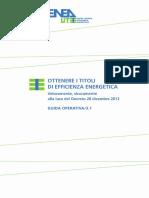 ENEA Certificati Bianchi (luglio 2014)