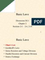 D2.1 Basic Laws1