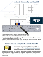 How to Make MicroSIM - ES