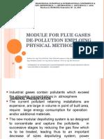 Module for Flue Gases de-pollution
