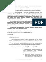 Contabilidade Geral - Exercícios - Aula04 Depreciação, Amortização e Exaustão
