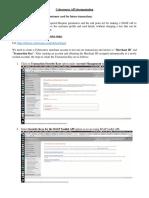 Cybersource API Doc
