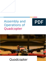 Assembly and Operations of Quadcopter