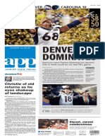 Asbury Park Press front page Monday, Feb. 8 2016