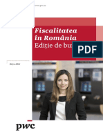 2014 Fiscalitatea in Romania