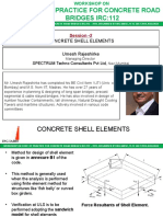 Concrete Shell Element