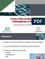 Como Evitar Dengue Chikun Zica
