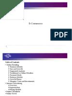 Analysis of E-Commerce