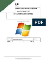 Lab 01 - Estadística Con Excel
