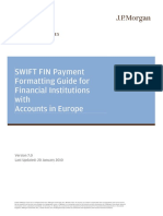 SWIFT FIN Payment Format Guide for European Accts (1)
