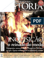 Revista Aventuras Na Historia - InQUISICAO o Reinado Do Medo - Abril de 2008 Ed 57